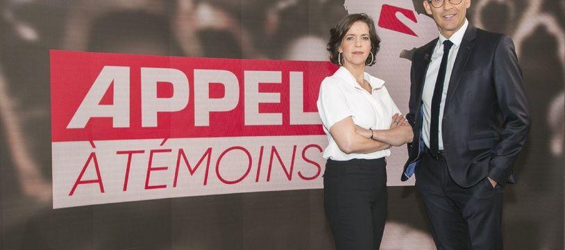 Nathalie Renoux et Julien Courbet orchestreront « Appel à témoins »