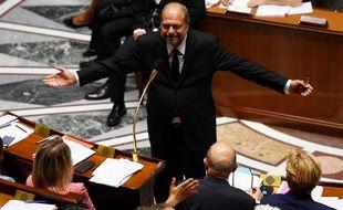Le nouveau ministre de la Justice, Eric Dupond-Moretti, à l'Assemblée nationale lors des questions au gouvernement , mercredi 8 juillet 2020.