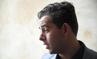 Jonathan Delay quitte la Cour d'Assises des mineurs à Rennes, le 19 mai 2015