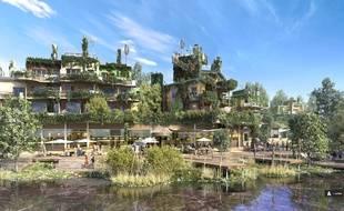 Les appartements du Village Nature s'inspireront des Jardins suspendus de Babylone.
