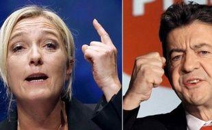 Une certaine confusion régnait mardi autour d'un débat prévu jeudi soir sur France 2 entre Marine Le Pen et Jean-Luc Mélenchon, la première refusant de débattre avec le second et laissant planer le doute sur sa participation à l'émission annoncée par la chaîne.