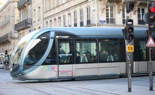 Un tramway à Bordeaux