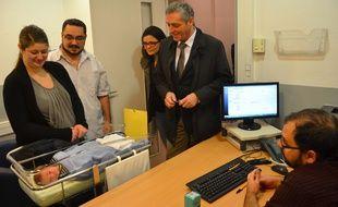 Le premier bébé a été enregistré ce lundi à la clinique Saint-Roch.