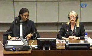 Carol white au tribunal de la Hague, le 9 août 2010.