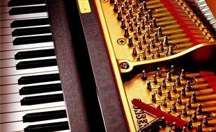 Illustration: Le clavier d'un piano.