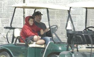 Jett et John Travolta en 2004