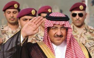 Le prince héritier et ministre de l'Intérieur saoudien Mohammed ben Nayef Al Saoud à Riyadh, le 19 mai 2015