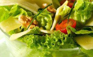 Illustration d'une salade composée.