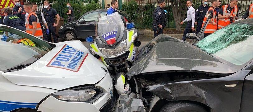 En avril 2020, un homme a délibérément percuté deux motards à Colombes, dans les Hauts de Seine