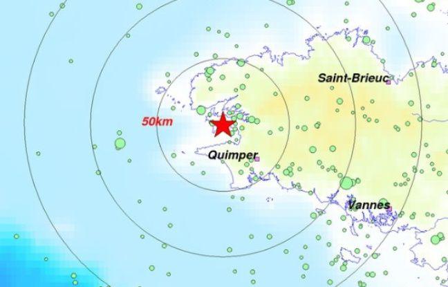 Bretagne: La terre a légèrement tremblé cette nuit près de Brest