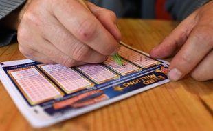 Illustration jeux de la francaise des jeux FDJ.Loto EuroMillions. Jeux d argent.