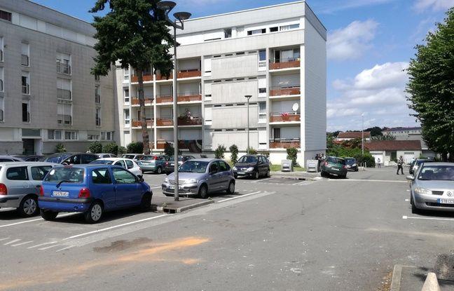 L'allée Henri-Chrétien, quartier du Breil à Nantes, à l'endroit même où la victime a été contrôlée avant d'être mortellement touchée par un coup de feu.