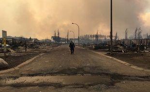 La ville de Fort McMurray a été ravagée par les flammes.