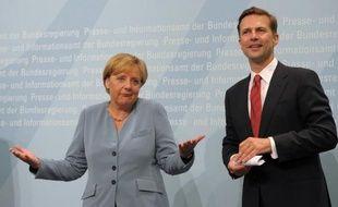"""L'Allemagne a posé lundi ses conditions au président élu François Hollande, en excluant toute renégociation du pacte budgétaire européen et toute initiative de """"croissance par les déficits""""."""
