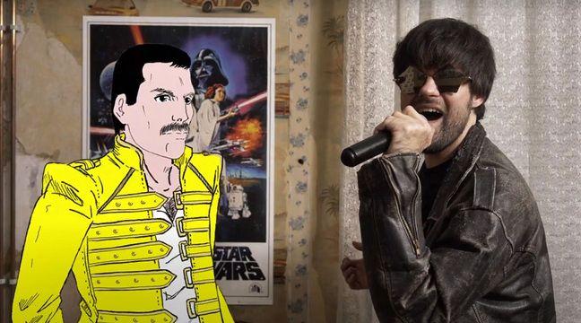 Freddie Mercury en duo avec un groupe lillois - 20 Minutes