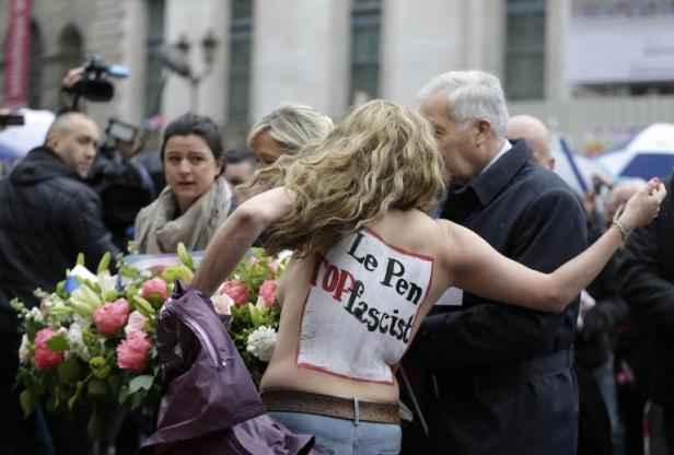 Front National Femme Au Foyer : Défilé fn du er mai les plaintes parti des femen et