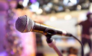 Illustration d'un microphone.