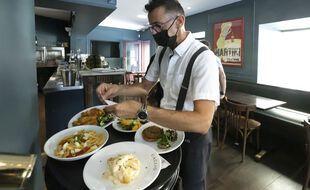 Le restaurant a été mis en vente dès le lendemain de l'allocation d'Emmanuel Macron. (illustration)