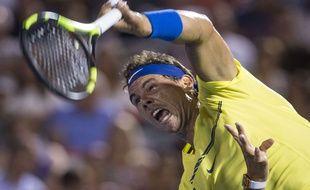 Nadal, le visage de la souffrance.