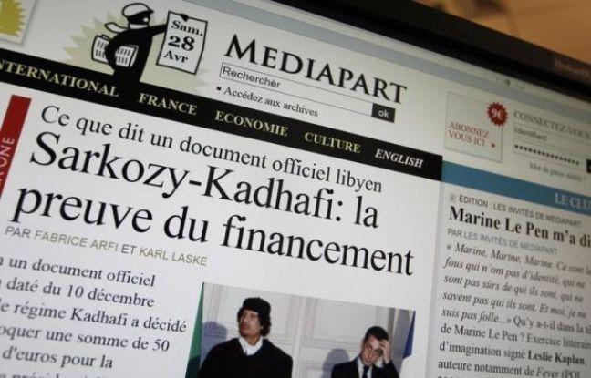 """Le Conseil national de transition (CNT), au pouvoir en Libye depuis la chute de Mouammar Kadhafi, a estimé mercredi que la lettre promettant un financement libyen à Nicolas Sarkozy lors de la présidentielle de 2007 semblait """"fausse et fabriquée""""."""