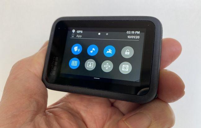 Les réglages de la GoPro Hero 9 Black s'effectuent directement sur son écran tactile.