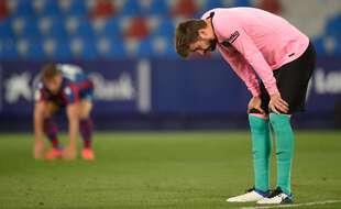 Gerard Piqué et le FC Barcelone ne gagneront sans doute pas le championnat d'Espagne cette saison.