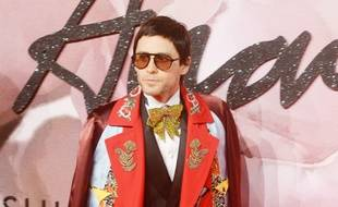 L'acteur et chanteur Jared Leto aux Fashion Awards 2016 à Londres