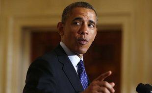 Barack Obama, le 2 avril 2013.
