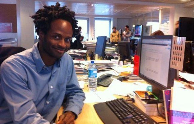 Tinan Leroy, à la rédaction de 20 Minutes, décembre 2011