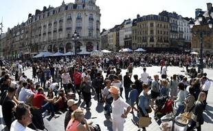 La Braderie de Lille bat son plein samedi 1er septembre 2018.
