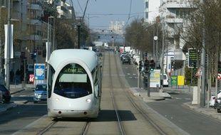 L'aménagement de la nouvelle ligne T6 va perturber la circulation du T2 perdant plusieurs mois. Illustration.