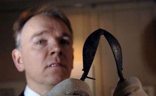 Un appareil utilisé au 18e siècle pour la castration des chanteurs d'opéra est exposé au Handel House Museum de Londres.
