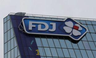 Le siège de la Française des Jeux, ou FDJ, à Boulogne-Billancourt, près de Paris.