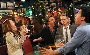 Noël entre copains, ici, dans la série «How I met Your Mother».