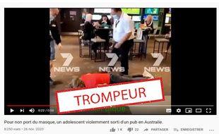 La direction de l'établissement a expliqué à la presse australienne que le jeune homme a été expulsé en raison de son comportement « turbulent ».