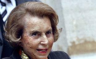 L'héritière de l'Oréal en 2011. AFP PHOTO FRANCOIS GUILLOT