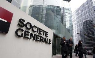Siège de la banque Société générale à La Défense, près de Paris.