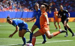 Itale et Pays-Bas s'affrontent à Valenciennes en quart de finale du Mondial féminin