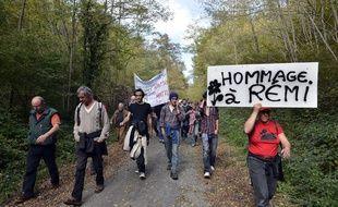 Un hommage à Rémi Fraisse a été organisé à Sivens.