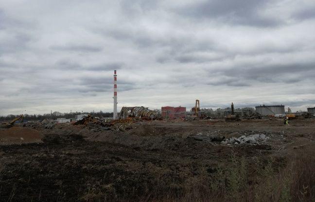 A proximité de Reichstett, le site de l'ancienne raffinerie va accueillir d'ici 2020 le futur EcoParc rhénan.