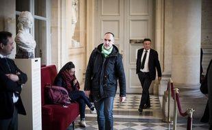Le député Loïc Prud'homme au palais Bourbon, le 21 février 2019.