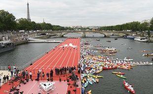 Le 23 juin 2017, une journée olympique était organisée à Paris.