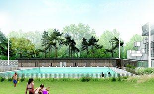 Rennes la piscine br quigny se pr pare l 39 arriv e de son for Brequigny piscine