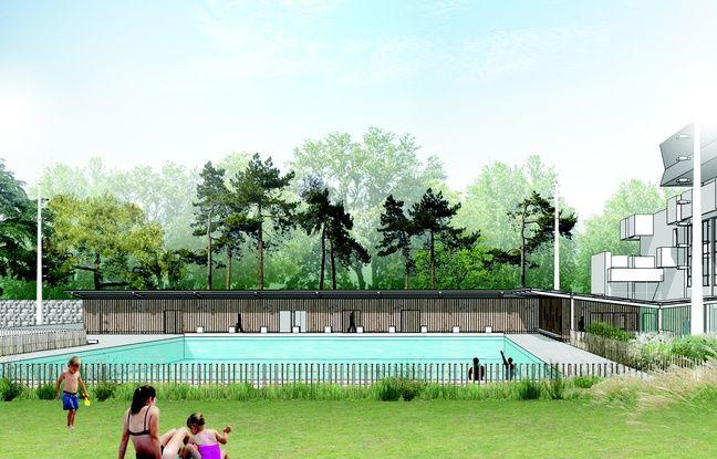 Rennes la piscine br quigny se pr pare l 39 arriv e de son for Piscine de brequigny