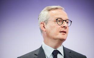 Bruno Le Maire, le 28 novembre 2019 à Paris.