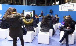 Une conférence sur Parcoursup au salon  le Salon Postbac de la Villette, le 12/01/2018.