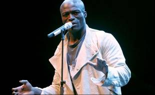 Le chanteur Seal