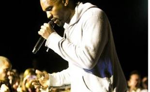 Kanye West, lors d'un concert à Bâle (Suisse), le 13 juin 2013.