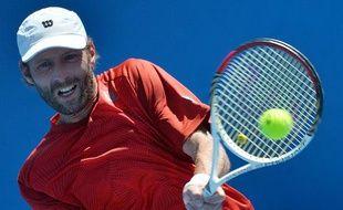 Stépahne Robert lors de l'Open d'Australie, le 14 janvier 2014, à Melbourne.