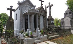 Illustration du cimetière de Roubaix.